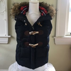 Abercrombie & Fitch puffy vest.